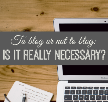 Is-blogging-necessary