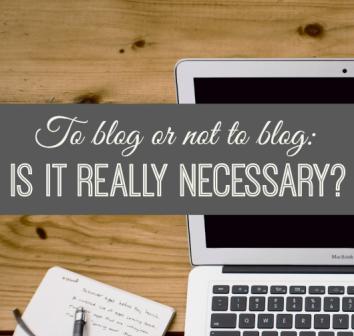 Is-blogging-necessary